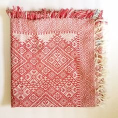 """Madewell Tile Jacquard Scarf Details          NWT           Flame red          Cotton           53"""" x 53""""            Style Idea: Try a white tee, jeans, and neutral accessories for a polished Sunday look. Madewell Accessories Scarves & Wraps"""