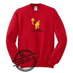 Winnie the Pooh Bear Bottom sweatshirt