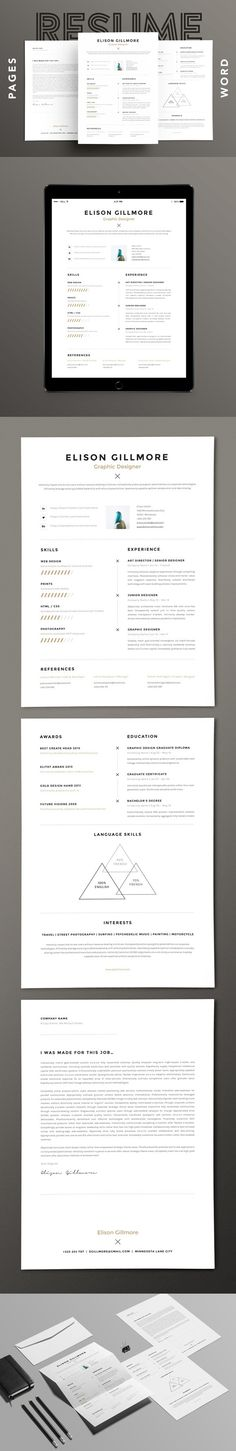 Resume - how to make a resume on word