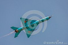 Supersonic Jet Fighter Aircraft Editorial Photography - Image of airport, russian: 32142187 Fighter Aircraft, Fighter Jets, Image Photography, Editorial Photography, The Art Of Flight, Mig 21, Soviet Union, Pilots, Air Force