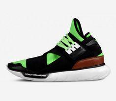 adidas Originals Y-3 Qasa High – Black / Green – Brown