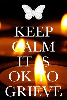 """I don't like the """"keep calm"""" sayings, but.. sometimes people need to hear this."""