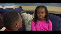 My daughter in an acting clip!  In Trouble (starring Lincoln Harris & Mariah Moseley) - YouTube