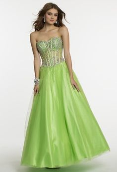 Slip into a magical fashion dream in this gorgeously crafted ballgown dress fit for the perfect prom girl,