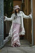 """Zorro Skirt Lace """"T"""" & Victorian Western Coat... Love this look!"""