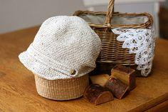 布製みたいな こま編みキャスケットの作り方|編み物|編み物・手芸・ソーイング|作品カテゴリ|ハンドメイド・手芸のレシピ、作り方ならアトリエ