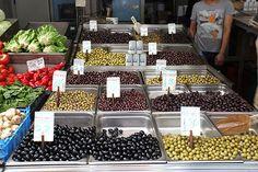 Olive lover's dream in Greece.