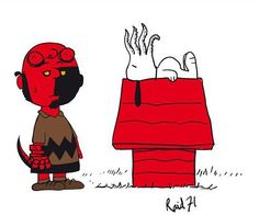 que tAL disfarce de  hellboy ....