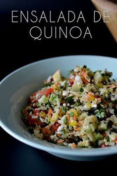 ENSALADA DE QUINOA - ALL YOUR SITES