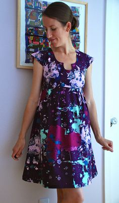 Drop Cloth Washi Dress by Kelly Lea Sews, via Flickr