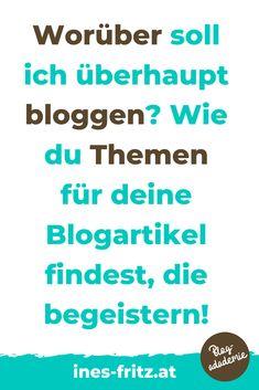 Du schaffst es einfach nicht, regelmäßig einen Blogartikel zu schreiben weil dir die Themen fehlen? Weißt du nicht, worüber genau du bloggen sollst, weil du dir über deinen eigene Blogstrategie noch nicht im Klaren bist? Mit der richtigen strategisches Ausrichtung deines Blogs und einem soliden Contentplan schaffst du es endlich, Woche für Woche Blogartikel rauszuhauen, die deine Leser begeistern! Affiliate Marketing, Content Marketing, Internet Marketing, Social Media Marketing, Corporate Blog, Web Design, Told You So, About Me Blog, Writing