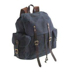 J.Crew Abingdon rucksack.