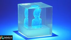 I will show you how easy it is to make a 3d hologram of epoxy resin 3d Hologram, Clear Epoxy Resin, Resin Molds, Lava Lamp, The Creator, Projects, How To Make, Art Ideas, Videos