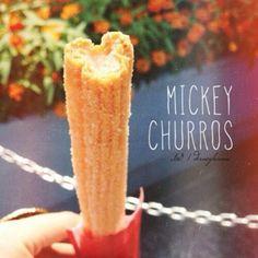 Tokyo Disneyland has Mickey Mouse shaped Churros! Photo Credit: @Haven Cariker