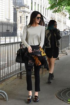Street Style | Kendall Jenner out in Paris, May 2014.