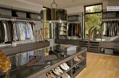 5f69cf7cdf0 men s closet ~ they need nice ones too  ) Walk In Closet Inspiration