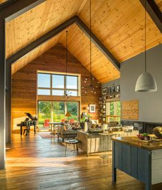 Une grange moderne dans le Vermont – PLANETE DECO a homes world Une grange moderne dans le Vermont – PLANETE DECO a homes world,loft and architects' house Related DIY Wood Projects ideas to.