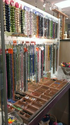 Garden of Beaden in downtown Upland has a huge selection of beads  and jewerly making supplies. Feb 2014