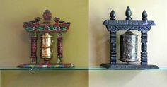Museum of Spiritual Art - Prayer Wheels Exhibit, Prayers, Art Gallery, Wheels, Spirituality, Museum, Concept, Display, Artwork