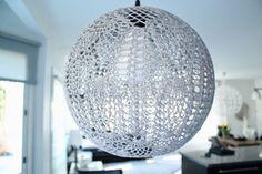 LÄMMIN ILO crochet lampshade