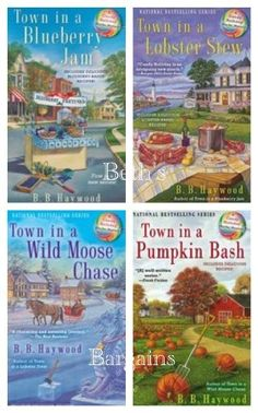 A cozy mystery series centered in Cape Willington, Maine.  On the to be read list.