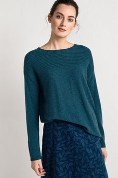 A luxurious, long-sleeved jumper made from pure cashmere in a selection of Seasalt colours you won't find anywhere else.  #SeasaltComfortandJoy