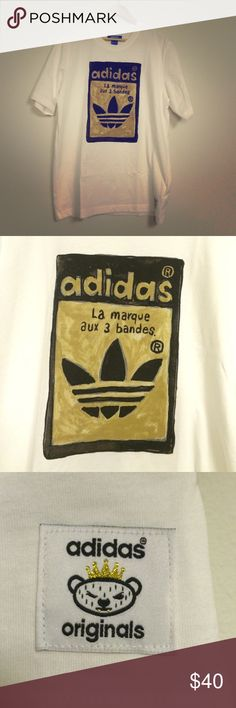 NWT Mens Adidas Tshirt Brandnew. Adidas Original. Adidas Shirts Tees - Short Sleeve