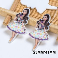 50pcs/lot 23*41MM Sexy Woman Resin Flatback Beautiful Girl Planar Resin Cabochon DIY Craft Embellishments For Scrapbooking FR108