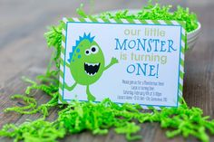 Monster Birthday | Unique Moments | Custom Wedding Invitations and More
