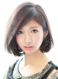 ダークカラーの前下がりワンレンボブ 【Gran mash】 http://beautynavi.woman.excite.co.jp/salon/26422?pint ≪ #bobhair #bobstyle #bobhairstyle #hairstyle・ボブ・ヘアスタイル・髪型・髪形 ≫
