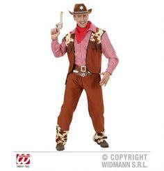 Disfraz de Vaquero adulto. Cowboy costume . #disfraces #carnival  http://www.leondisfraces.es/producto-1145-disfraz-de-vaquero-adulto