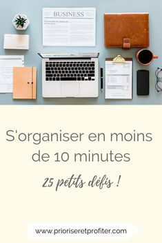 Here is a list of 25 things to do to get organized when you only have 10 minutes to go! Source by prioriseretprofiter Journal Organization, Self Organization, Buisness, Positive Attitude, Study Tips, Writing A Book, Getting Organized, Organiser, This Or That Questions
