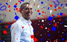 Barack Obama has won the 2012 presidential election, announcing his win on Twitter at 11:14 p.m. ET Tuesday evening: