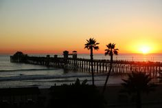 Oceanside Pier in Oceanside, CA
