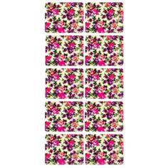 Como imprimir adesivos para unha flores coloridas (Foto: Divulgação)