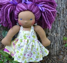 @Diana DeGarmo! Here is an Erica doll! :)  Opal by Dragonfly's Hollow