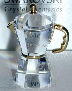 Swarovski SWAROVSKI CRYSTAL MEMORIES - ESPRESSO MACHINE BABY GOLD 268625 | Swarovski Crystal