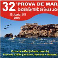 32ª Prova de Natação Joaquim Bernardo de Sousa Lobo | 15 de Agosto| 16h | Praia da Nazaré | Nazaré