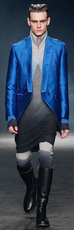 Visions of the Future // Ann Demeulemeester #outstandingombre #Zappos Men's Avant Garde