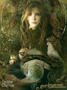 Goddess of Earth, by Eve Ventrue.