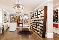 "skin care retail shelves | Mußler ""Home of Beauty"" by DITTEL Architekten, Stuttgart"