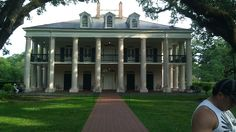 Oak Alley Plantation. This place is amazing and wonderful for the soul!!!