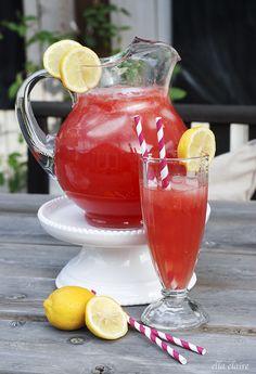 Sparkling Watermelon Lemonade Recipe by Ella Claire