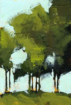 Green Poplars by Paul Bailey