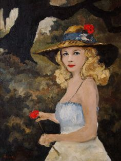 Musings of an Artist's Wife: From Jolie Blonde to Bodies: Paintings of Women