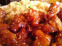 Slow Cooker Honey Sesame Chicken - Delicious!  www.getcrocked.com