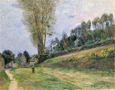 Street in Rouen (1884)  Paul Gauguin