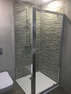 Shower unite with flip door, square tray Square Tray, Bathtub, Doors, Shower, Bathroom, Standing Bath, Rain Shower Heads, Washroom, Bathtubs