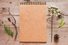 Notebook rustick artistic mockup. by Sentimental postman on Creative Market