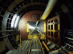 Tunnel, photographed by Hoichi Nishiyama